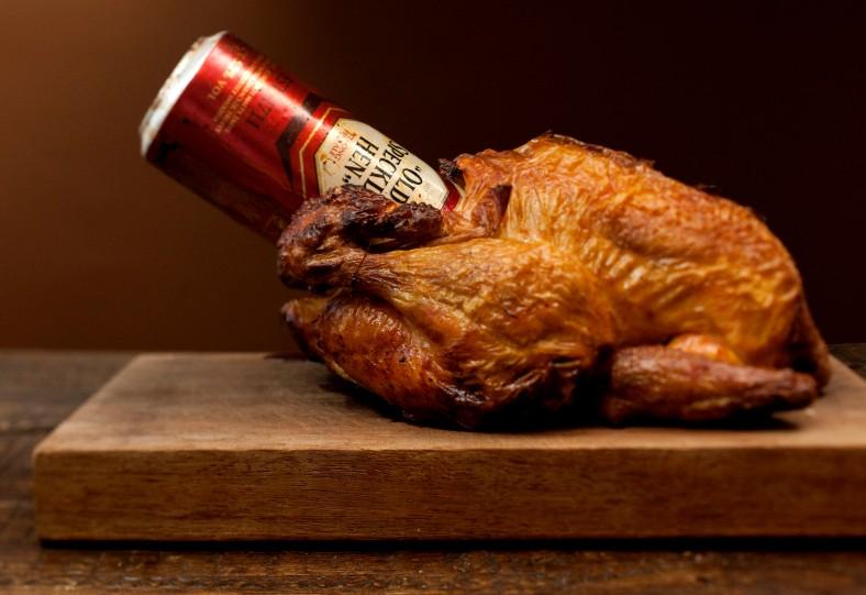 Beer Butt Chicken